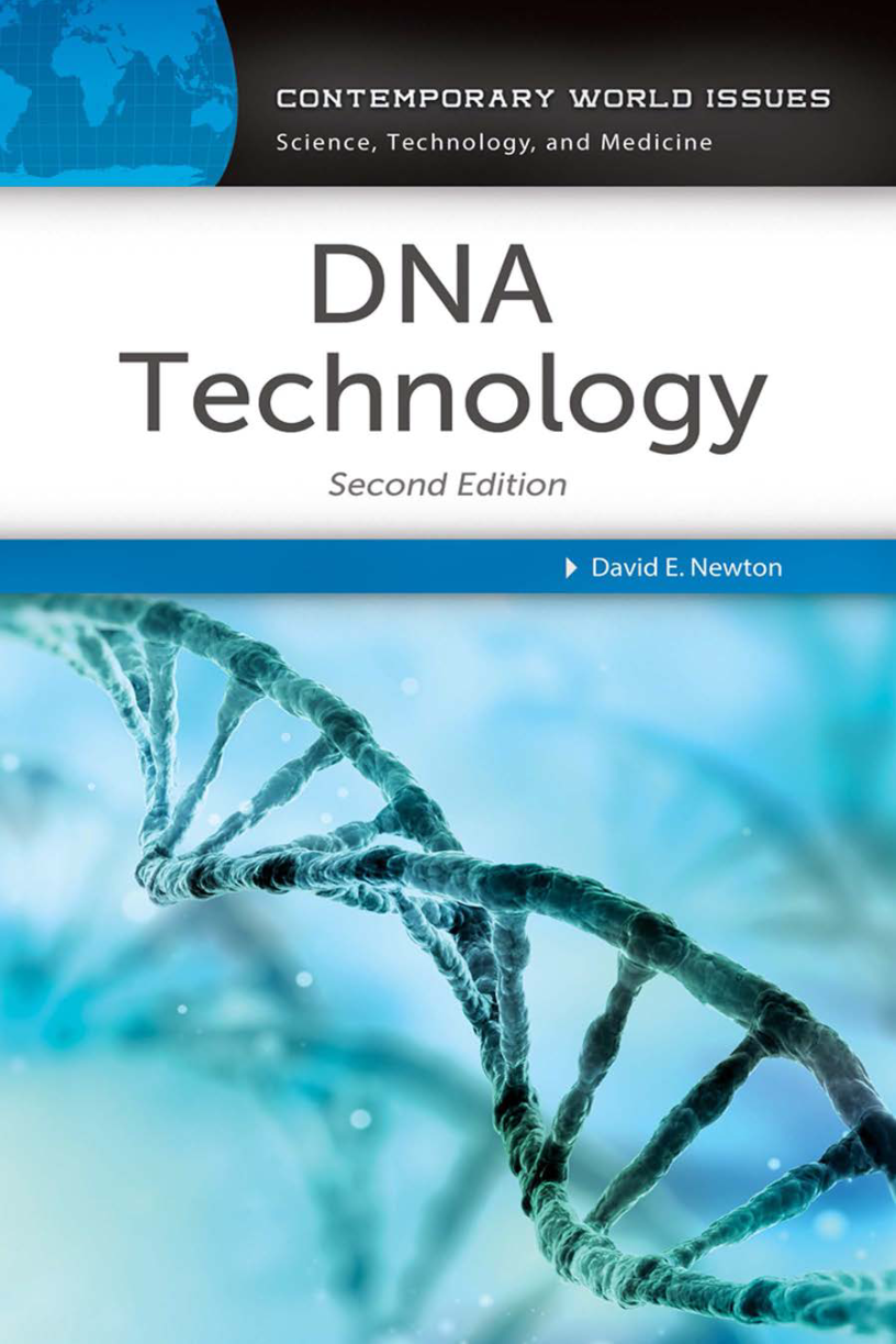 DNA Technology: A Reference Handbook, 2nd Edition page Cover1