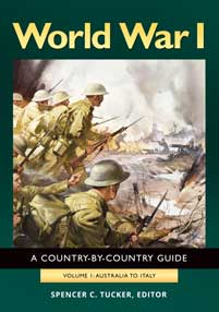 World War I: A Country-by-Country Guide [2 volumes]